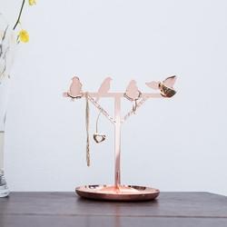 kikkerland Smykkeholder med fugle - kobber fra fenomen