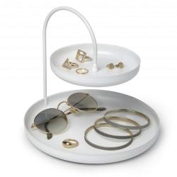 umbra – Smykkeholder i hvid - poise two på fenomen