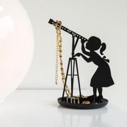kikkerland – Smykkeholder stjernekigger - sort på fenomen