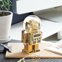 Snekugle astronaut the robot gold fra carlobolaget fra fenomen