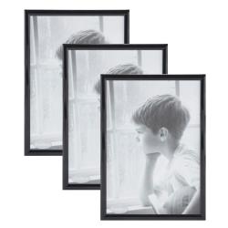 Fotoramme sort 21x30 cm (3 stk.) fra pantone fra fenomen