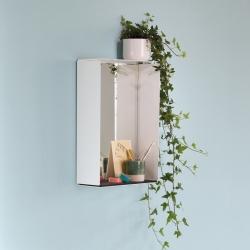 Mirror box med spejl - hvid - sort filt fra konstantin slawinski fra fenomen