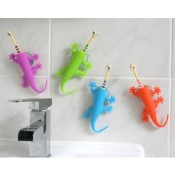 Tandbørsteholder - larry the lizard - blå fra j-me på fenomen