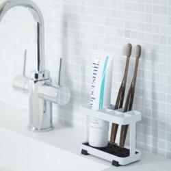 yamazaki – Tandbørsteholder - hvid på fenomen