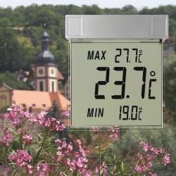 Image of   Digital udendørs termometer til vindue