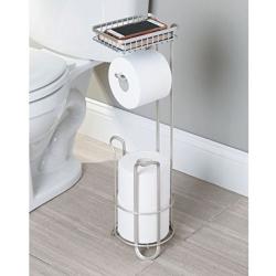 interdesign Toiletrulleholder med reserve til gulv på fenomen