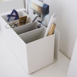 yamazaki Pen holder - hvid metal fra fenomen