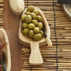 Image of   Serveringsske mango træ