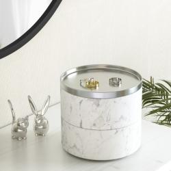 umbra – Tesora box smykkeholder - hvid på fenomen