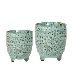 Image of   Urtepotter 2 stk. keramik