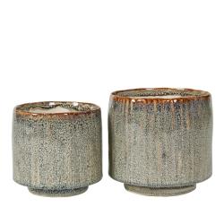 Image of   Urtepotteskjulere 2 stk. keramik