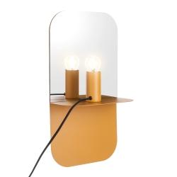 house doctor – Væglampe plate - gul fra fenomen