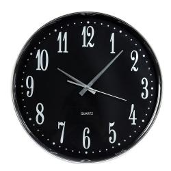 by wirth – Vægur sort med hvide tal - 36 cm på fenomen
