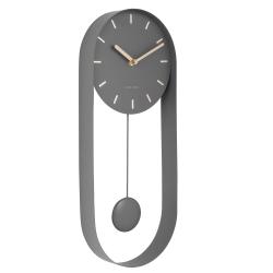 karlsson Charm pendulur vægur - grå fra fenomen