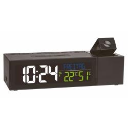Vækkeur med projektion og radiokontrol SHOW