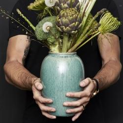 bitz Vase bliz i grøn - 25 cm på fenomen