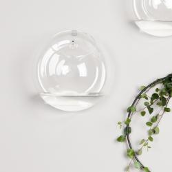 Image of   DBKD glas vase til væg - large