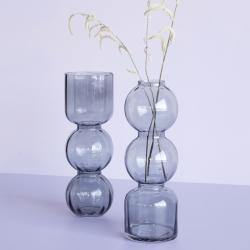 hübsch – Vaser i farvet glas 2 stk. hübsch på fenomen