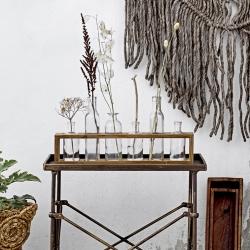 Sæt med 6 vaser og trækasse fra bloomingville fra fenomen