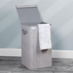 Image of   Aldo vasketøjskurv - grå med låg