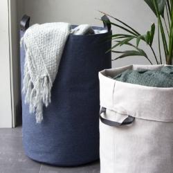 bigso box – Vasketøjskurv rund - blå på fenomen