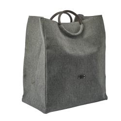 Vasketøjskurv jada - silver grey fra aquanova fra fenomen