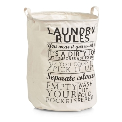 Image of   Vasketøjskurv - Laundry Rules