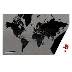 Image of   Pin World - med lande