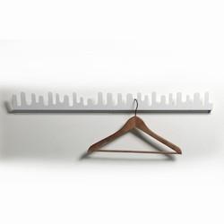 design house stockholm Wave - knagerække i hvid fra fenomen