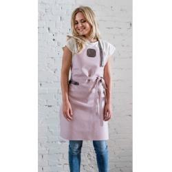 witloft Læder forklæde dame i pink - witloft fra fenomen