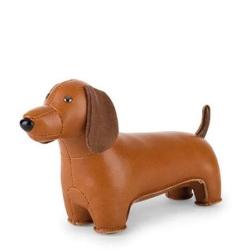 zuny Züny gravhund i brun læder look fra fenomen