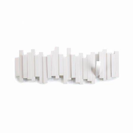 Sticks knagerække - hvid