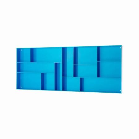 Sættekasse - blå akryl