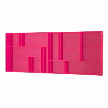 Sættekasse - pink akryl