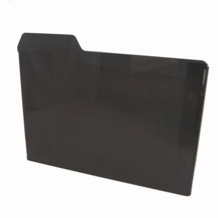 Kasse i sort akryl