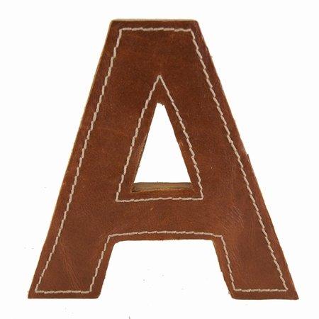 Læder bogstav - A