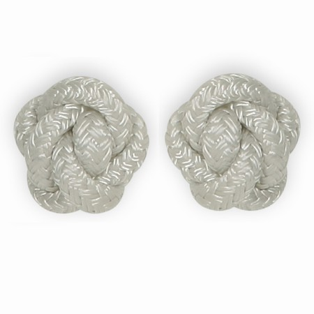 Diamond knots - hvide knager