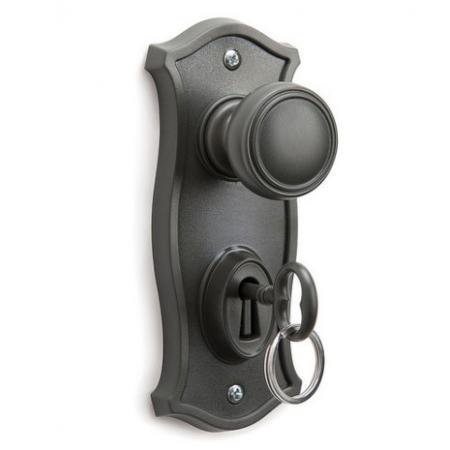 Doorman nøgleholder - grå