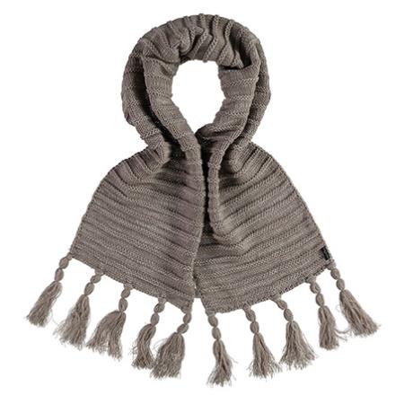 Brun varmt halstørklæde
