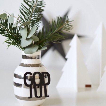 God Jul ophæng - 2 stk