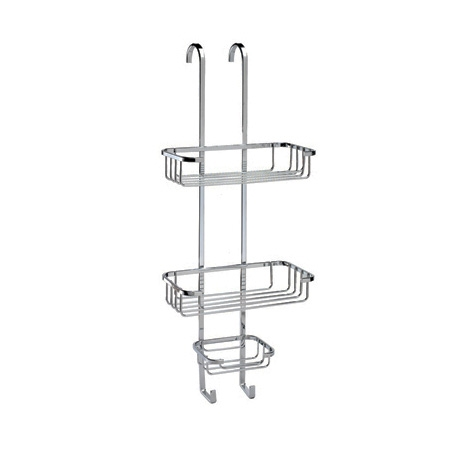 Shower caddy med kurve til badet