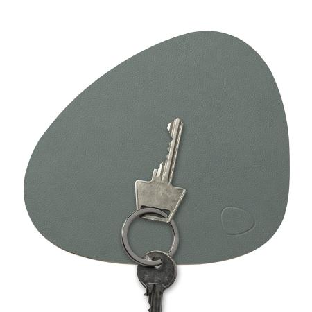 Key board i læder - pastel green