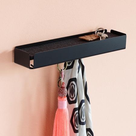 Key Box nøgleholder i metal - sort