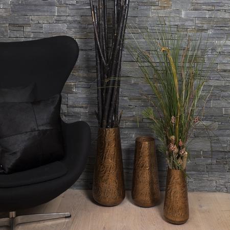 Kobber vase - 33 cm