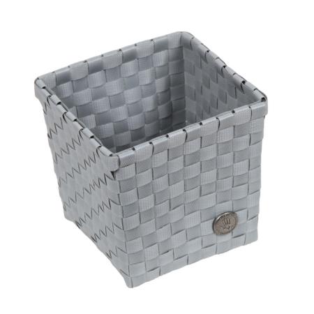Kurv kvadratisk Handed By - grå