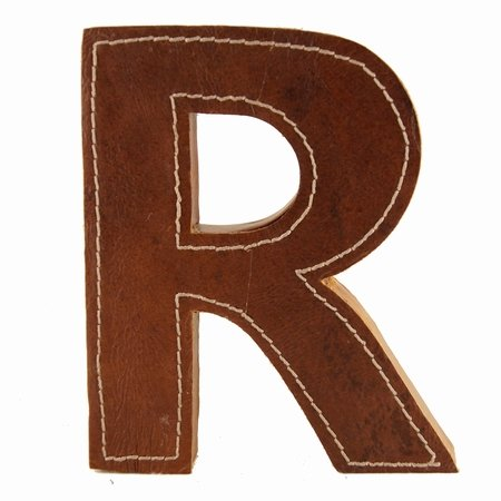 Læder bogstav - R