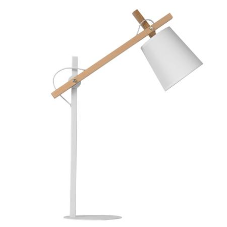Sheer lampe - hvid og træ