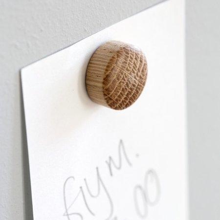 Træ magneter - 4 stk. WALL WOOD