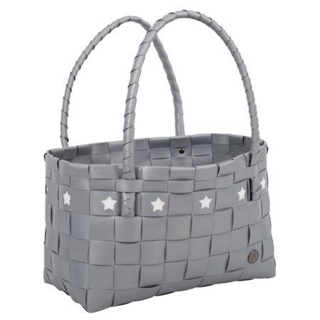 Handed By Mallorca taske - silver og stjerner