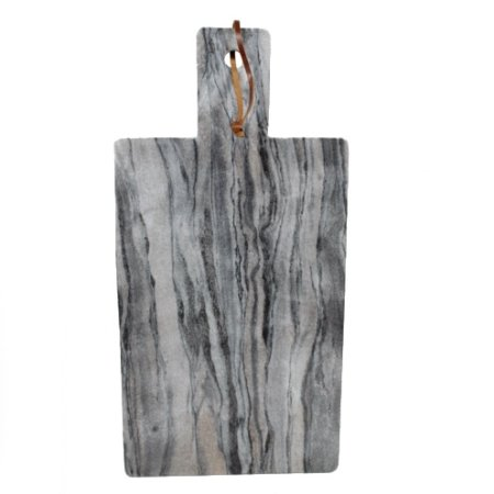 Marmor skærebræt - grå